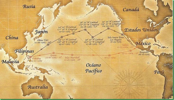 Expedicin a las Filipinas de Lpez de Legazpi  Viajes navales